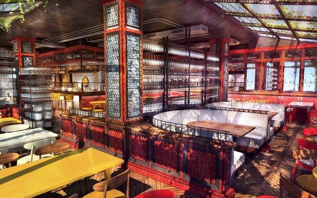 Ginza Project откроет наМарата ресторан «Гастрономика» . Изображение № 1.
