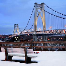 Подвесной мост, который очищают от снега с помощью мочевины. Изображение № 30.