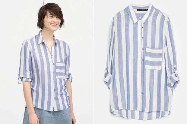 Где купить женскую рубашку: 6вариантов от 2500 до 7900рублей. Изображение № 1.