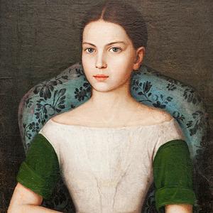 Портрет девочки. Неизвестный художник, из коллекции Галаганов. Предоставлено «Мистецьким арсеналом». Изображение №3.