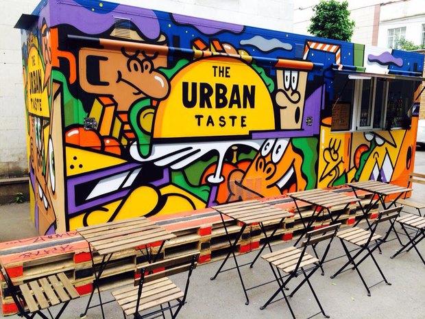 В Москве появились вагончики суличной едой The Urban Taste. Изображение № 1.