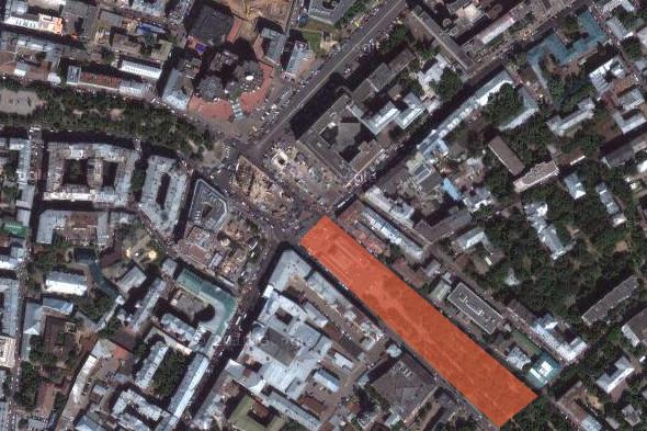 Чистопрудный бульвар, памятник Грибоедову — «Россия молодая». Изображение № 10.