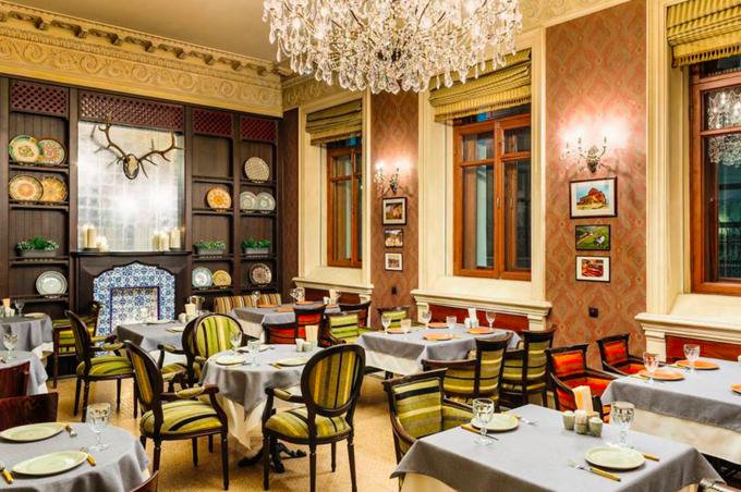 Владелец IL Патио и «Планета суши» открыл кафе грузинской кухни «Кинза». Изображение № 1.