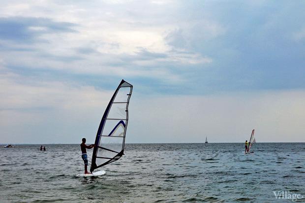 На воде: Виндсёрфинг, вейкбординг и дайвинг в Одессе. Зображення № 6.
