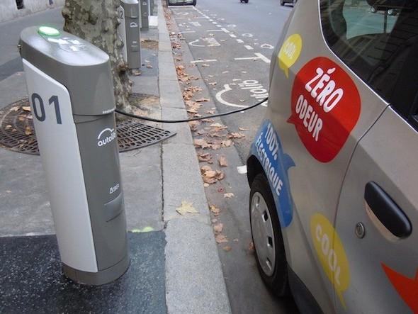 Иностранный опыт: Прокат электромобилей в Париже. Изображение № 7.