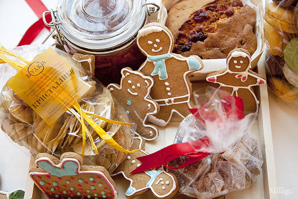 Сладкий Санта: Имбирные человечки и другие новогодние десерты навынос. Изображение № 6.