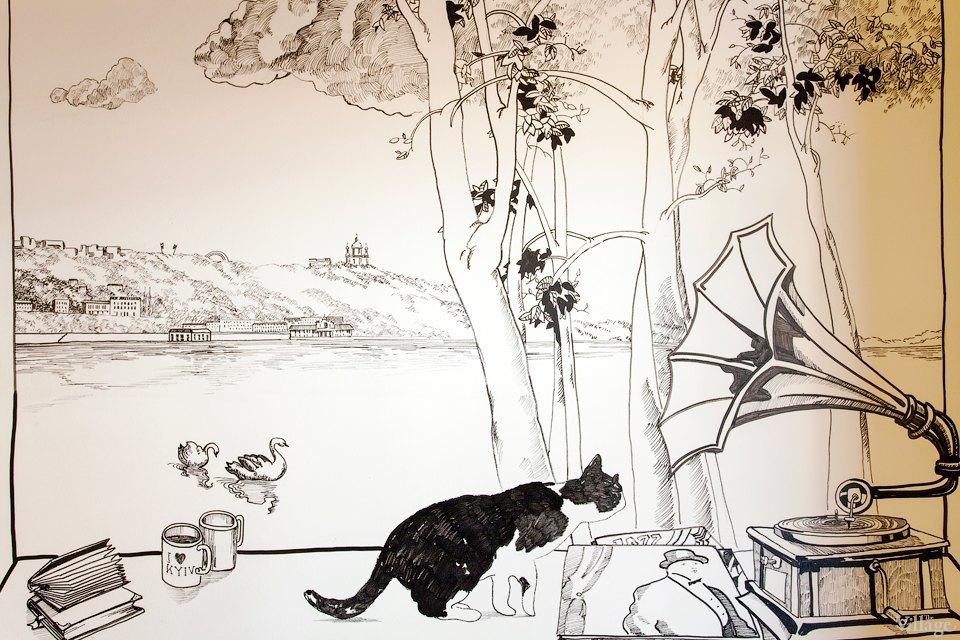 На Подоле открылось свободное пространство Freud House. Изображение № 6.