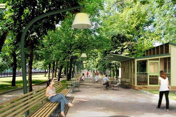 Итоги недели: Проект реконструкции Никитского бульвара, киоск «Супстанция» и рейды ЖКХ. Изображение № 3.