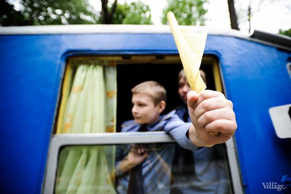 Фоторепортаж: В Киеве открылся сезон на детской железной дороге. Зображення № 32.