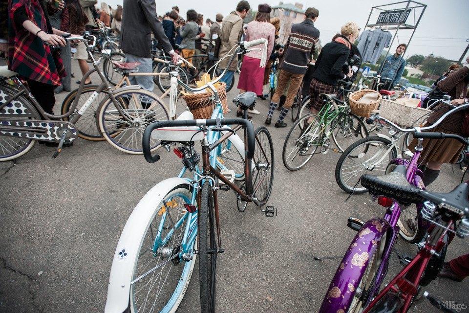 Second Time: В Киеве прошёл второй велокруиз в стиле ретро. Изображение № 11.