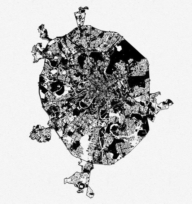Белые пятна — земля, которая никак не используется. Изображение №3.