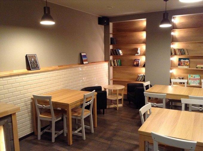 НаПетроградской открылась кафе-кондитерская Folks Cafe . Изображение № 2.