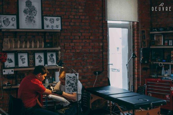 На Бауманской улице открылся тату-салон Oeuvre Ink. Изображение № 3.