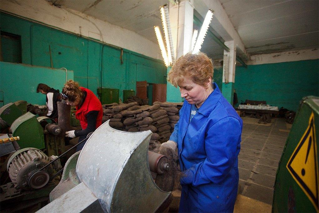 Производственный процесс: Как делают валенки. Изображение № 19.
