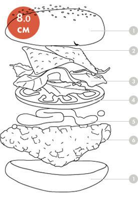 Между булок: что внутри у самых больших московских бургеров, часть 1. Изображение № 17.
