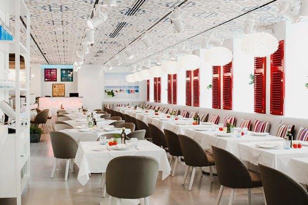 На месте кафе «Галерея» наПетровке открылся новый ресторан Аркадия Новикова Semiramis. Изображение № 1.