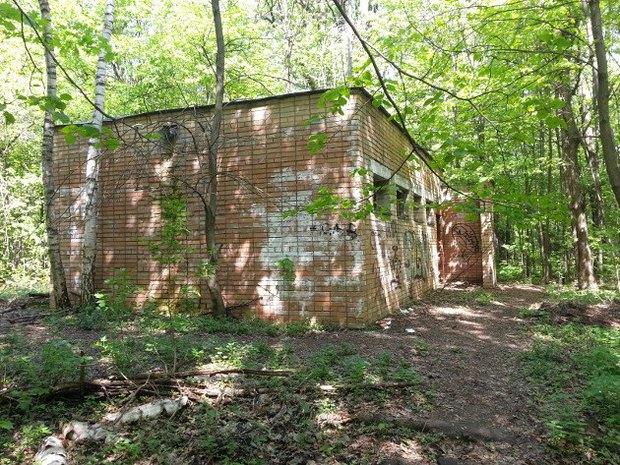 Здание туалета в нынешнем виде. Изображение № 1.