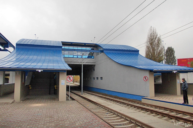 Вместо метро: На Троещине запустили скоростной трамвай. Изображение № 4.