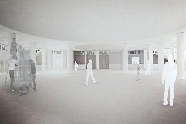 Объявлены победители конкурса на реставрацию кинотеатра «Ударник». Изображение № 2.