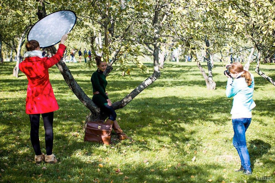 Люди в городе: Любительские фотосессии в парке. Изображение № 4.