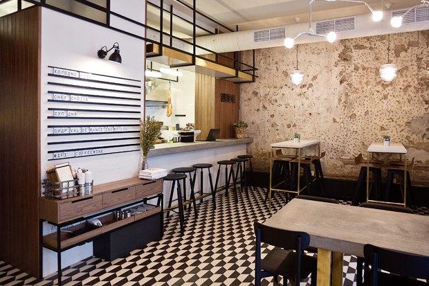 Nude. Coffee&Wine Bar, обновлённый «Дом12», кафе-вагон Foody . Изображение № 1.