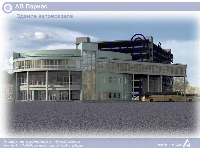 «Пассажиравтотранс» представил проекты автовокзалов у«Парнаса» и«Купчино» . Изображение № 4.