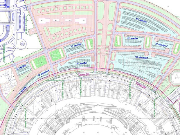 Опубликована часть проекта набережной около «Зенит-арены». Изображение № 6.
