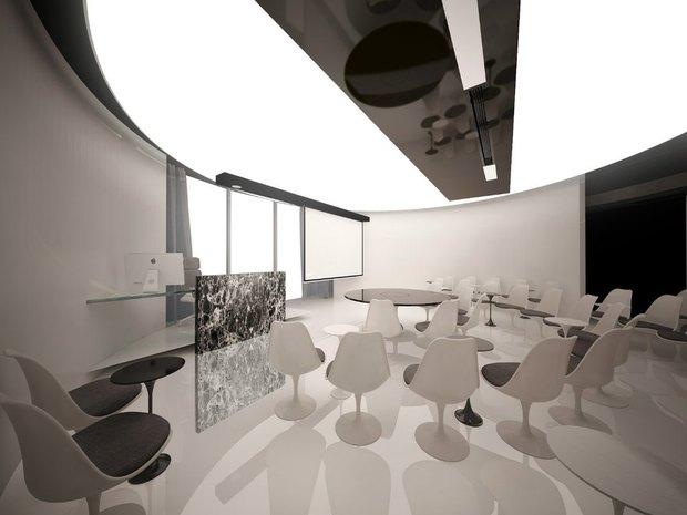 Студенты архитектурных вузов представили проекты интерьеров «Лахта-центра». Изображение № 7.