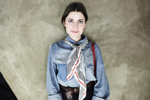На Веронике — украшение Marni at H&M. Изображение № 6.