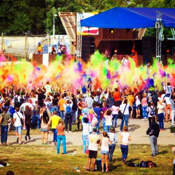 Вогнали в краску: В Киеве прошёл фестиваль «Холи». Изображение № 3.