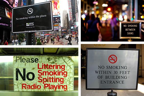 Иностранный опыт: Запрет на курение в Нью-Йорке. Изображение № 1.