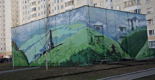 Юго-восток Москвы украсят граффити. Изображение № 9.