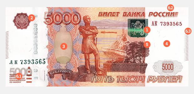 Как убедиться вподлинности банкноты. Изображение № 1.