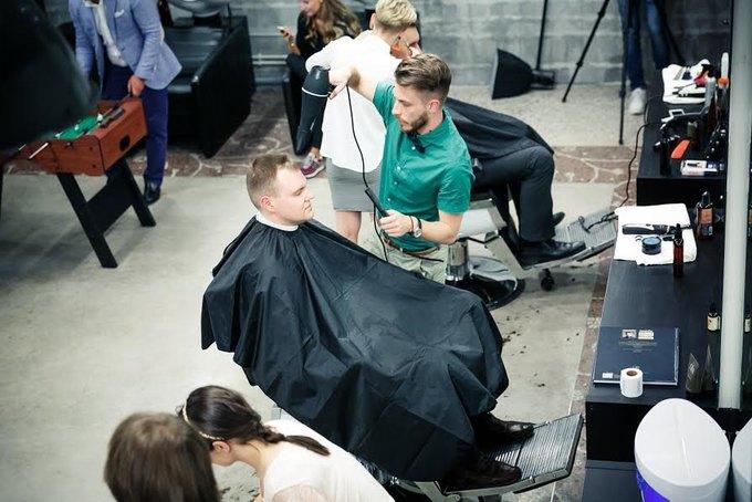 Московская сеть мужских парикмахерских «Аляска» открыла ещё один салон. Изображение № 1.