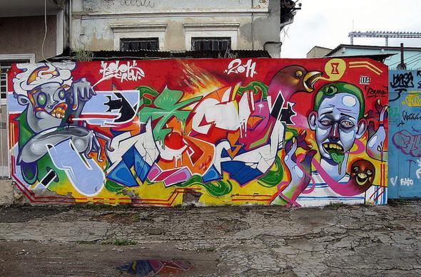 Юго-восток Москвы украсят граффити. Изображение № 1.
