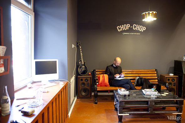 Новое место: Мужская парикмахерская Chop-Chop. Изображение № 3.