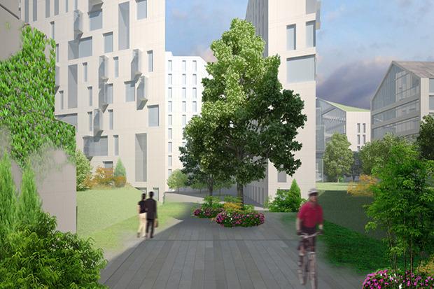 10 проектов квартала около Витебского вокзала . Изображение № 7.