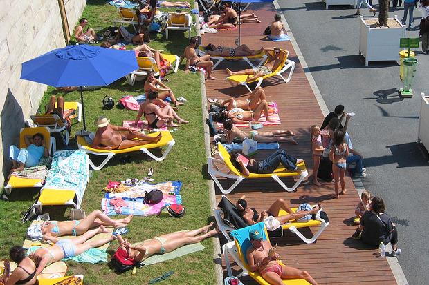 Иностранный опыт: 6 городских пляжей. Изображение №12.