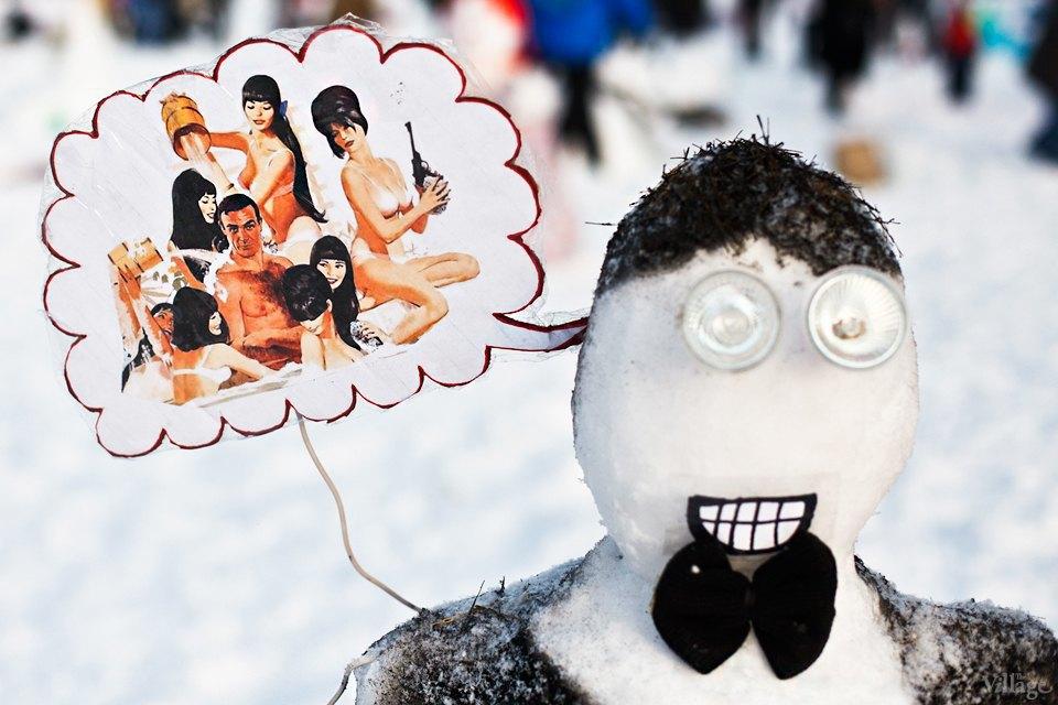 Люди в городе: «Арт-битва снеговиков». Изображение № 15.