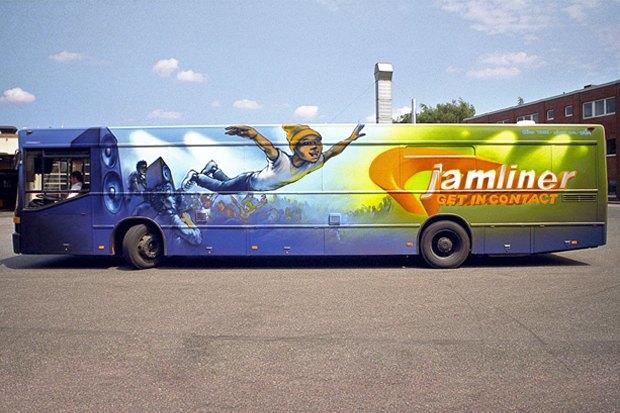 Как превратить городской автобус встудию звукозаписи . Изображение № 3.