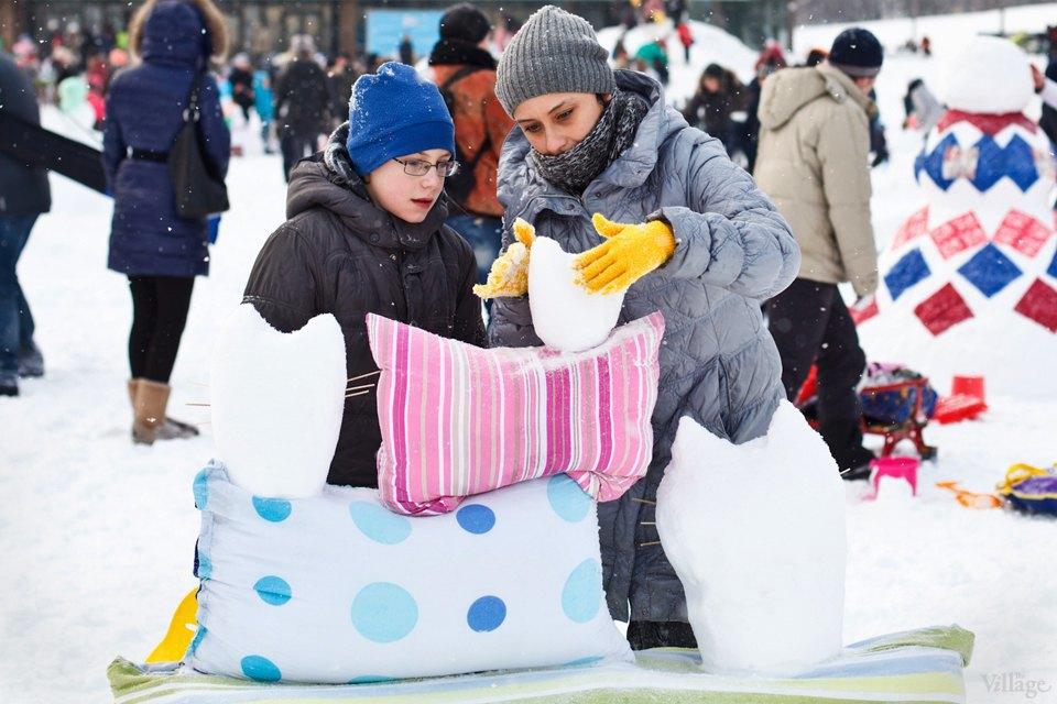 Люди в городе: «Арт-битва снеговиков». Изображение № 5.