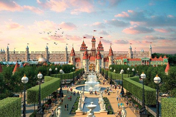 Власти показали, как будет выглядеть московский «Диснейленд». Изображение № 2.