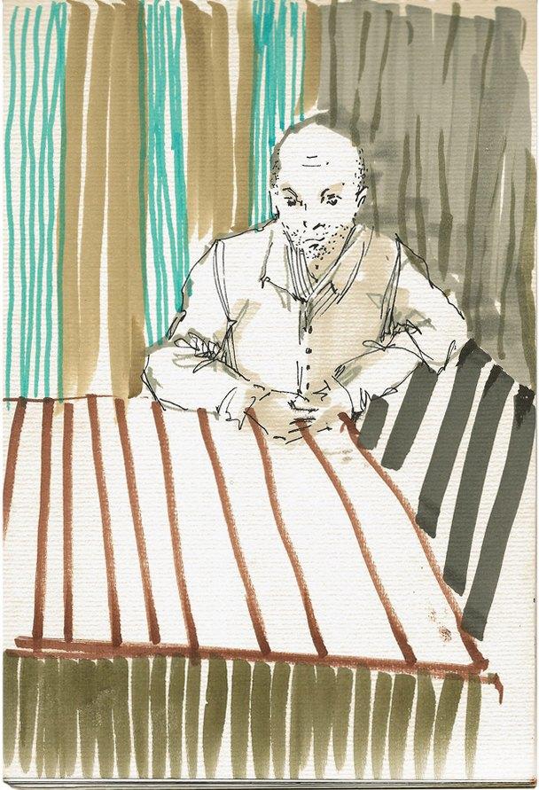 Клуб рисовальщиков: «Белая площадь». Изображение № 11.