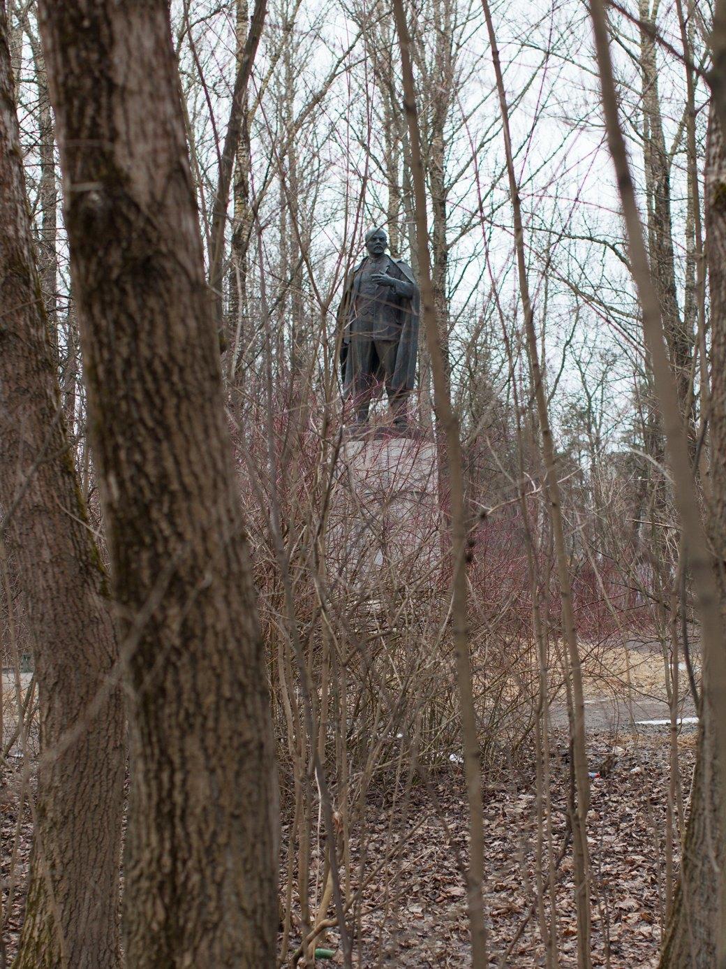 Памятник Ленину рядом с домом культуры. Изображение № 17.