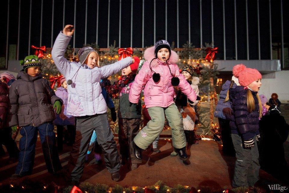 Люди в городе: Рождественская деревня ВВЦ. Изображение № 13.