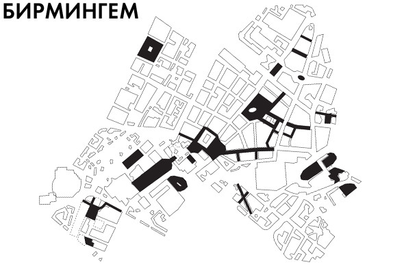 Пешеходные сети в европейских городах.. Изображение № 9.