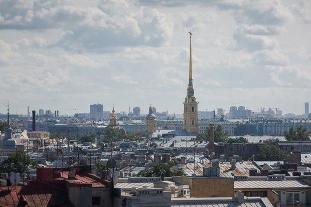 Накрыше комплекса «Толстой сквер» открылся панорамный ресторан . Изображение № 1.
