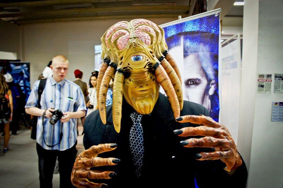 Фоторепортаж: Поклонники фантастики на фестивале «Старкон» в Петербурге. Изображение № 25.