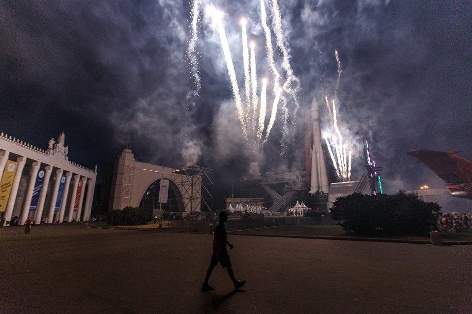 Как прошло празднование  75-летияВДНХ. Изображение № 26.
