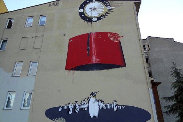 Граффити, изменившие улицы Колумбии, Франции, Турции иВенгрии. Изображение № 11.